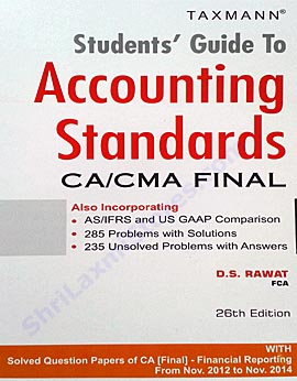 Accounting standards by d s rawat