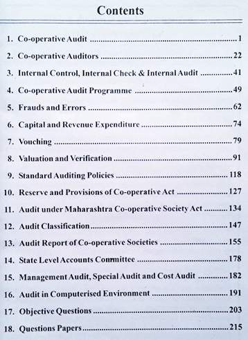 GDC&A Auditing (Paper- III) New Revised Syllabus Book Contents