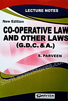GDC & A Co-Operative Law And Other Laws Book As Per New Revised Syllabus