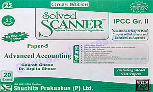 IPCC Group II Paper 5 Advanced Accounting Solved Scanner Green Edition
