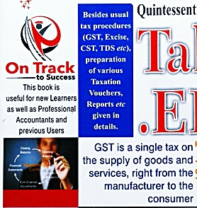 Learn Tally.ERP9 with GST Book Features