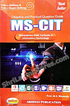 MS-CIT  Objective & Practical Question Guide- Latest Syllabus