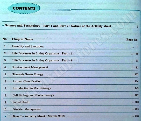 Navneet Science and Technoogy Digest Index