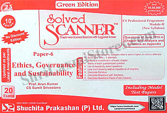 CS Solved Scanner for Professional Module II Paper 6 Ethics Governance and Sustainability