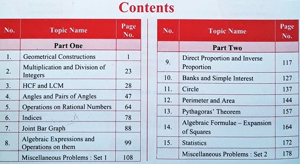 STD 7 CCE Pattern Pefect Notes for STD 7 Students!