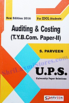 T Y B Com  Accounting Paper- I - Last 6 Years Univeristy